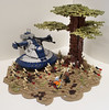 Clone Wars: Defenders of Peace (Ben Cossy) Tags: lego moc clone wars star war tree dave filoni droid anakin skywalker ahsoka tano battle tfol afol tank aat