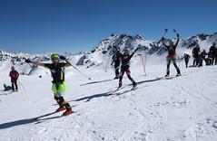Parcours de la Rosablanche jusqu au col de la Chaux (Patrouille des Glaciers) Tags: pdg alpinisme course neige printemps ski spectateurs 2018 patrouille des glaciers