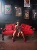 high picture model (Mvdsds) Tags: modelo garota adolescente morena cabelo preto preta 15anos 15 anos photography fotos ensaio nikon coolpix l810 photoshop goiphotos sofá vermelho veludo chique elegante elegancia quadros edit superzoom março sorriso encarada