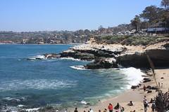 Living it up in La Jolla (maxj75) Tags: sandiegocounty sandiego lajolla beach cliffs ca california vacation