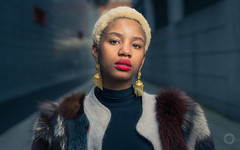 300 - Damara (iain blake) Tags: 100strangers strangers 100 people street face faces eyes london nikon d4 50mm outdoors beauty beautiful smile portraiture woman fashion model