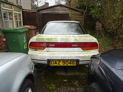 1992 Nissan 200 SX (Neil's classics) Tags: vehicle abandoned car 1992 nissan 200sx