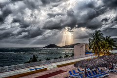 The Non Sunset from the Sunset Bar (AaronP65 - Thnx for over 13 million views) Tags: brisassierramar cuba santiago