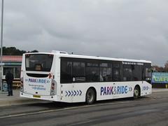 East Yorkshire 385 YX14HDZ 'Alan White' Bridlington Park & Ride on P&R (3) (1280x960) (dearingbuspix) Tags: eyms eastyorkshire parkride 385 yx14hdz alanwhite
