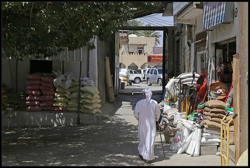 Souq in Bhala, Oman