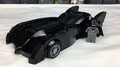 TNBA Batmobile (bricksfeeder) Tags: lego batman batmantheanimatedseries batmobile animated serie thenewbatmanadventures new adventure moc instructions building