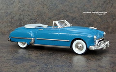 1948 Oldsmobile Ninety-Eight Convertible Coupe (JCarnutz) Tags: 143scale diecast brooklin whitemetal 1948 oldsmobile ninetyeight