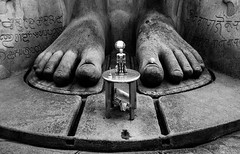 Foot (Padmanabhan Rangarajan) Tags: hampi karnataka india architecture