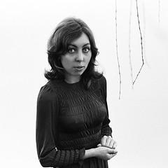 M – first formal portrait, 1970 (jonathan charles photo) Tags: blackandwhite bw monochrome portrait 1970 art photo jonathan charles