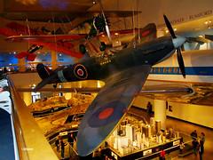 ChicSciMus_021_Spitfire (AgentADQ) Tags: museum science industry chicago illinois 2018 airplane aviation plane transportation gallery supermarine spitfire british fighter