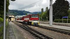 Zell am See 11.08.2017 (The STB) Tags: pinzgaubahn pinzgauerbahn narrowgauge schmalspurbahn austrianrailways österreich österreichsischebahnen österreichischezüge austria