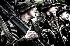 The boys from Saigon. (Steve.T.) Tags: soldiers m60 squaddies vietnamwar usarmy templeatwar taw18 templeatwar2018 squad reenactment reenactors nikon d7200 sigma18200 yanks m60machinegun cressingtemple cressing essex