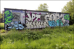 Onue, Cos, JPT, Sope, Hekla... (Alex Ellison) Tags: onue cos cosa ac hekla sope jpt southlondon urban graffiti graff boobs
