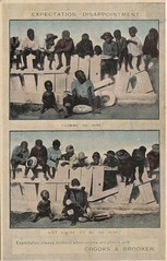 Advertising postcard for Crooks & Brooker of Adelaide, S.A. - very early 1900s (Aussie~mobs) Tags: advertisement advertisingpostcard crooksbrooker furnishers adelaide portadelaide postcard vintage australia native negro black children comic humour
