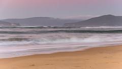 Hazy Sunrise Seascape (Merrillie) Tags: daybreak sunrise landscape ettalongbeach nature dawn sea water centralcoast morning oceanbeach newsouthwales waves uminabeach nsw waterscape beach ocean earlymorning ettalongbeachpoint cloudy coastal clouds sky seascape australia coast outdoors seaside