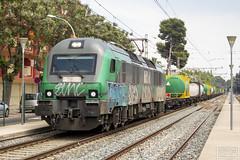 BiTrac serie 601 (Escursso) Tags: 601 bitrac caf catalunya chemist comsa electric renfe salou sapin tarragona diesel rail railway s602 train tren