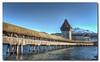 Lucerne 01 (Stéphane Perret) Tags: switzerland hdr bridge lucerne suisse