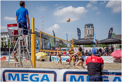 Summer In The City (RudyMareelPhotography) Tags: belgium flanders ghent sintpietersplein beachvolleyball sports flickrclickx flickr ngc