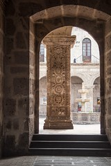 Pillar of wisdom ? (Inti Runa) Tags: canoneosm5 canonefm18150mm peru arequipa architecture mystery art tourism