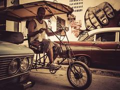 Havanna (gies777) Tags: kuba cuba havanna havana habana lahabana auto oldtimer uscar vintage olympus omd em5 mft micro four thirds reise travel vacation fahrradtaxi bicicleta rikscha bicitax