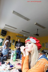 Fotocon 2017: Day 3: Cosplayers Getting Ready (SpirosK photography) Tags: clairdelunecosplay clairdelune gettingready makeup fotocon fotocon2017 fotoconbytechland fotoconbytechland2017 travel travelling travellog