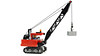 Crawler crane (de-marco) Tags: lego crawler tracks crane construction building town city