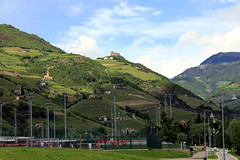 Bolzano, Bozen (Brodyaga.com) Tags: bolzano bozen italy austria southtyrol sudtirolo südtirol trentinoaltoadige transalpineroute alpes museum fest festival historic oldtown altstadt building architecture castle schloss dolomites