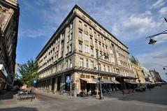 old Grand Hotel (rafasmm) Tags: łódź lodz poland polska europe city street streetphoto urban architecture old grand hotel streets corner outdoor color nikon d90 dslr sigma 1020 ex