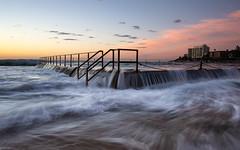 Cronulla dawn (David Marriott - Sydney) Tags: cronulla newsouthwales australia au pool wave sydney nsw dawn sunrise seafall flow