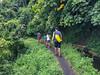 Trekking to the waterfall (Stinkee Beek) Tags: lombok adi leonard erin ethan