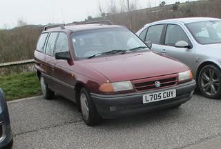 1994 Vauxhall Astra GLi 1.4 Estate.
