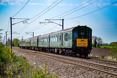 1001 - Cross Drove - 21/04/18. (TRphotography04) Tags: class 201 demu hastings unit no 1001 tonbridge wells mountfield rattles past cross drove waterbeach cambridgeshire working the west norfolk wanderer 1z30 0636 kings lynn