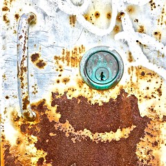 """Heaven's Gate"" (Halvorsong) Tags: rust rusty patina oxidization oxidized wall walls art composition color impressionism metal explore discover discovery hiddengems photography photosafari urban city nashville closeup old oldschool weathered vintage antique industry corrosion elements decay street texture textures textured"