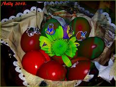 *Happy & different... (MONKEY50) Tags: art digital easter eggs colors pentaxart flower macro spring musictomyeyes autofocus flickraward hypothetical netartii artdigital contactgroups pentaxflickraward