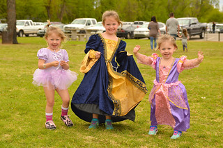 All princesses stop for a camera