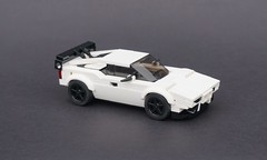 Lego 1980 BMW M1 - 01 (Jonathan Ẹlliott) Tags: bmw bmwm1 lego moc legomoc car vehicle