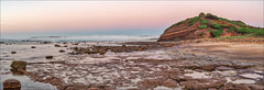 Us and them (JustAddVignette) Tags: australia beach collaroy dawn early fog headland incomingtide landscapes longreef longreefpointbeach newsouthwales northernbeaches ocean rocks sand seascape seawater sky sunrise sydney water