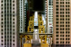 Mini L (Andy Marfia) Tags: chicago hydepark museumofscienceandindustry msi museum science industry model train cta l tracks buildings d7100 70300mm 1500sec f53 iso6400