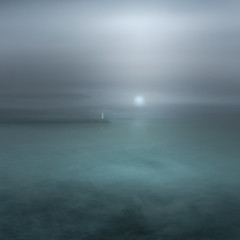 Moonshine (www.neilburnell.com) Tags: icm intentional camera movement art fineart brixham devon sea waves ocean lighthouse