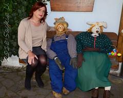 Crossdressing Easter Bunny (Saskia U.) Tags: tgirl crossdresser draussen outdoor ostern easter