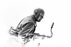 Marcello Allulli (Massimo De Dominicis) Tags: musiclive musica jazzlive biancoenero ef70200mmf28lisiiusm