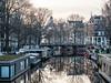 P4083309 (rpajrpaj) Tags: amsterdam city cityscape sunrise canal papiermolensluis papermilllock lekkeresluis brouwersgracht