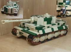 Tiger 1 Camouflage (WaffenBricks) Tags: tiger tank ww2 german lego 1 tiger1 6 panzer camo 145th scale camouflage
