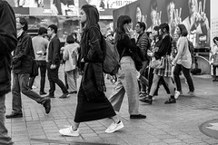 Sipping On Go Juice (burnt dirt) Tags: asian japan tokyo shibuya station streetphotography documentary candid portrait fujifilm xt1 bw blackandwhite laugh smile cute sexy latina young girl woman japanese korean thai dress skirt shorts jeans jacket leather pants boots heels stilettos bra stockings tights yogapants leggings couple lovers friends longhair shorthair ponytail cellphone glasses sunglasses blonde brunette redhead tattoo model train bus busstation metro city town downtown sidewalk pretty beautiful selfie fashion pregnant sweater people person costume cosplay bag drink