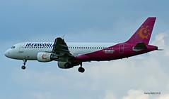 Airbus A320 ~ EC-KEN  Iberworld (Aero.passion DBC-1) Tags: roissy cdg spotting airport airlines airliner dbc1 david biscove aeropassion avion aircraft aviation plane airbus a320 ~ ecken iberworld