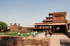 Fatehpur Sikri - (35) (Rubén Hoya) Tags: fatehpur sikri templo palacio capital imperial rajasthan india