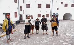 Ekan äksiisin jälkeen (GARS Savolax) Tags: gars turunlinna åboslott turkucastle reenactment 17thcentury 1600luku historianelävöitys historianelävöittäminen pikenööripäivä pike