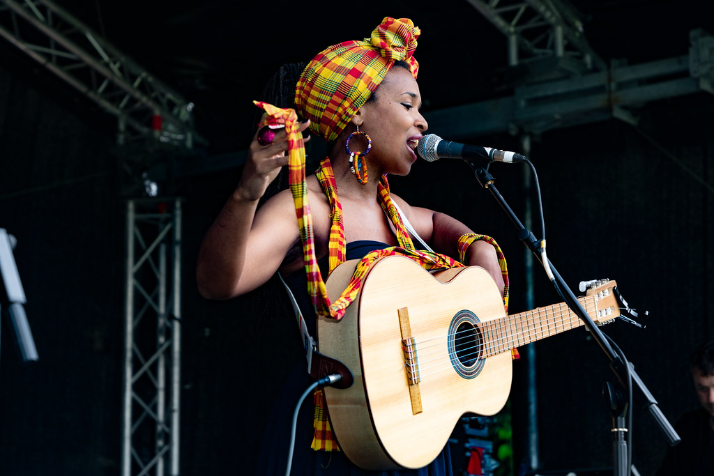 INES KHAI FROM GUADELOUPE [AFRICA DAY 2018 IN DUBLIN]-140493