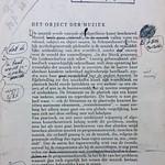 Eerste pagina proefdruk van essay 'Het Object der Muziek' van Vestdijk thumbnail