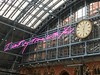 I want my time with you (Matt From London) Tags: time together traceyemin stpancras clock writing